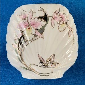 Fine Shine Japan Vase Iris Blossom Vintage